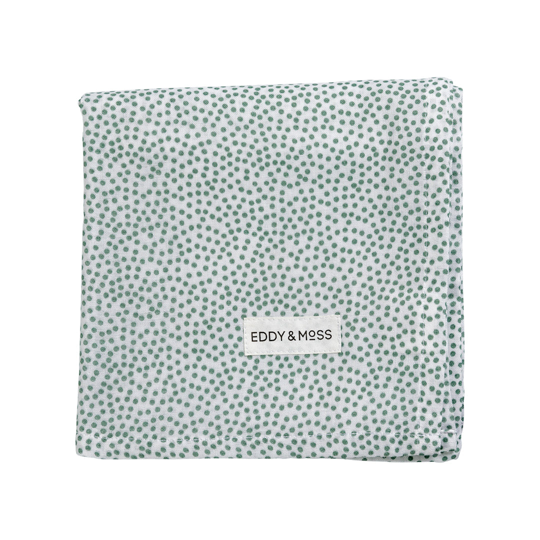 Swaddle Wrap - Speckles | Sea Foam
