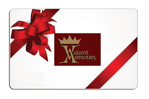 Valiant Armoury Gift Cards