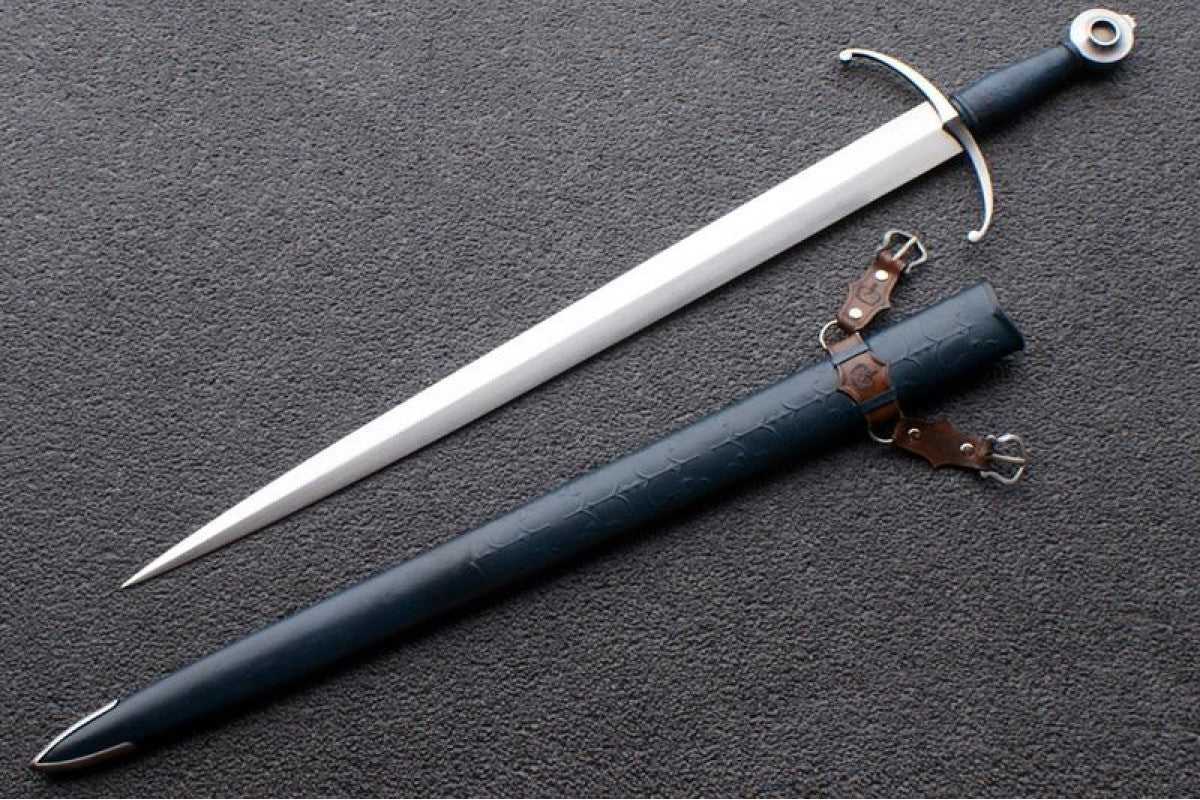 VA-110-Craftsman Series - The Monarch Medieval Arming Sword