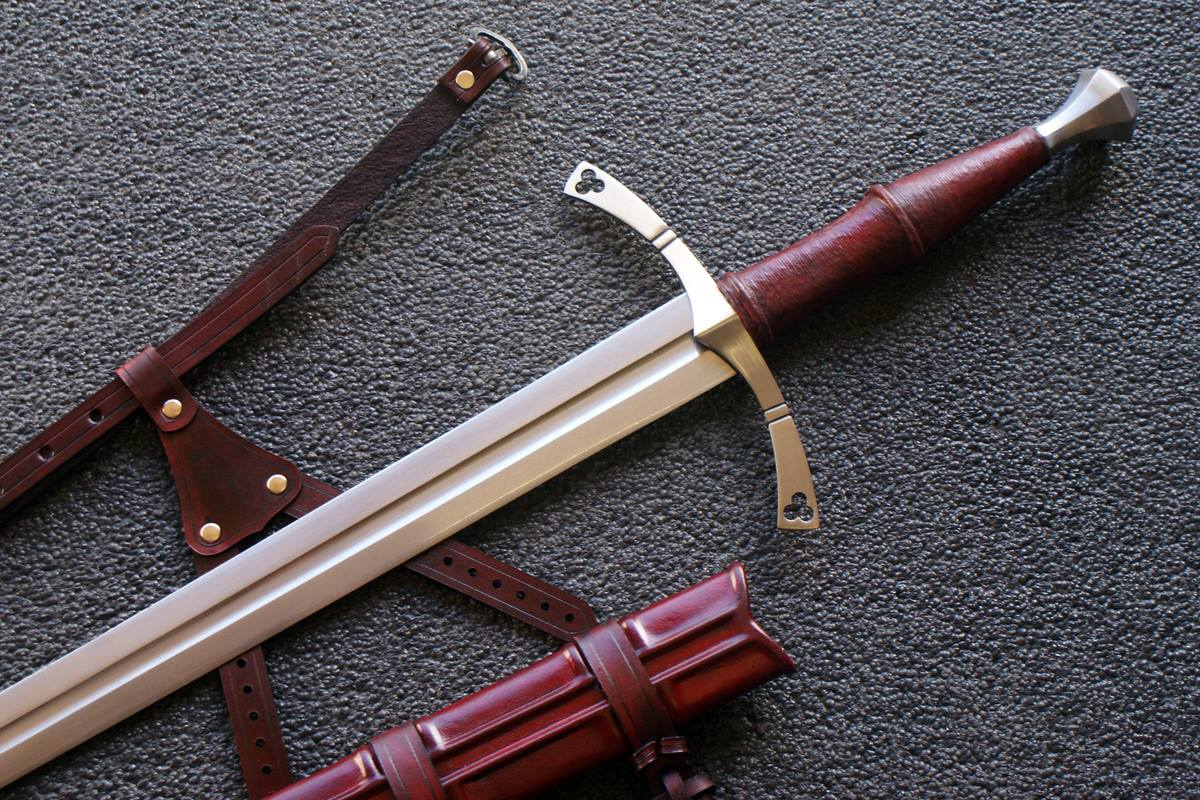 VA-407-Craftsman Series - The Malatesta Medieval Long Sword