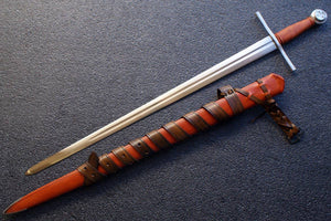 VA-408-Signature Collection - The Crusader Medieval Arming Sword