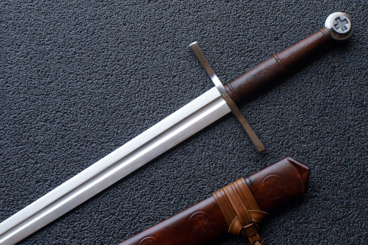 VA-409-Craftsman Series - The Knights Templar Medieval Long Sword