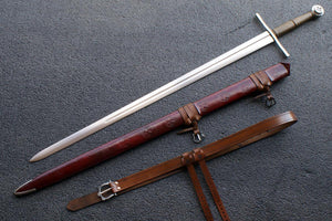 VA-409-Signature Collection - The Knights Templar Medieval Long Sword