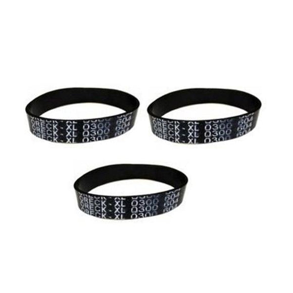 3-Pack Oreck XL9100HG Upright Vacuum Upright Belt Compatible Replacement