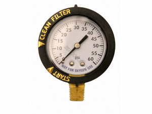 Pentair PNCC0050OD1160 (Before 2009) Clean & Clear Above Ground Filter Pressure Gauge Compatible Replacement