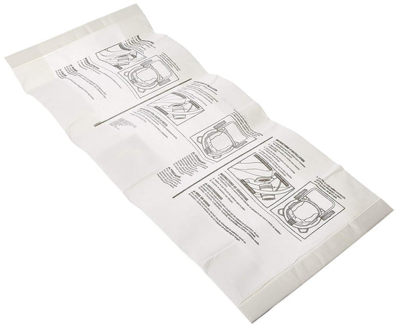 2-Pack Ridgid WD1950 Wet/Dry Vacuum Disposable Filter Bags Compatible Replacement