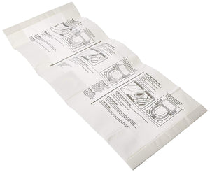 2-Pack Ridgid WD12450 12 Gallon Wet/Dry Vacuum Disposable Filter Bags Compatible Replacement