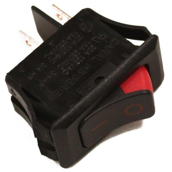 Oreck 7555901 Speed Rocker Electric Switch Compatible Replacement