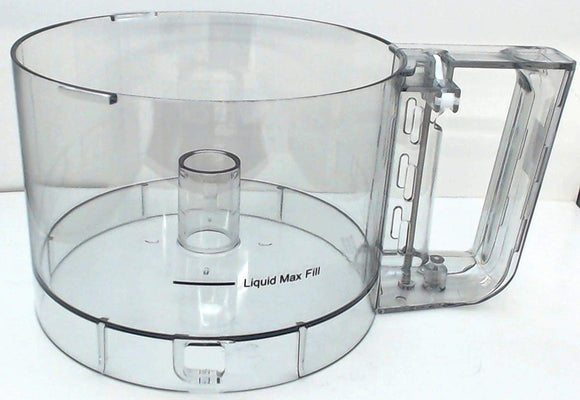 Cuisinart DLC-2007N Prep 7 7-Cup Food Processor Work Bowl With Clear Handle Compatible Replacement