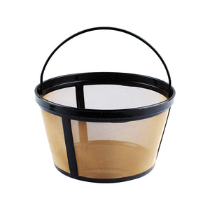 Cuisinart DGB-700BC Grind & Brew 12-Cup Coffeemaker Gold Tone Filter Basket Compatible Replacement