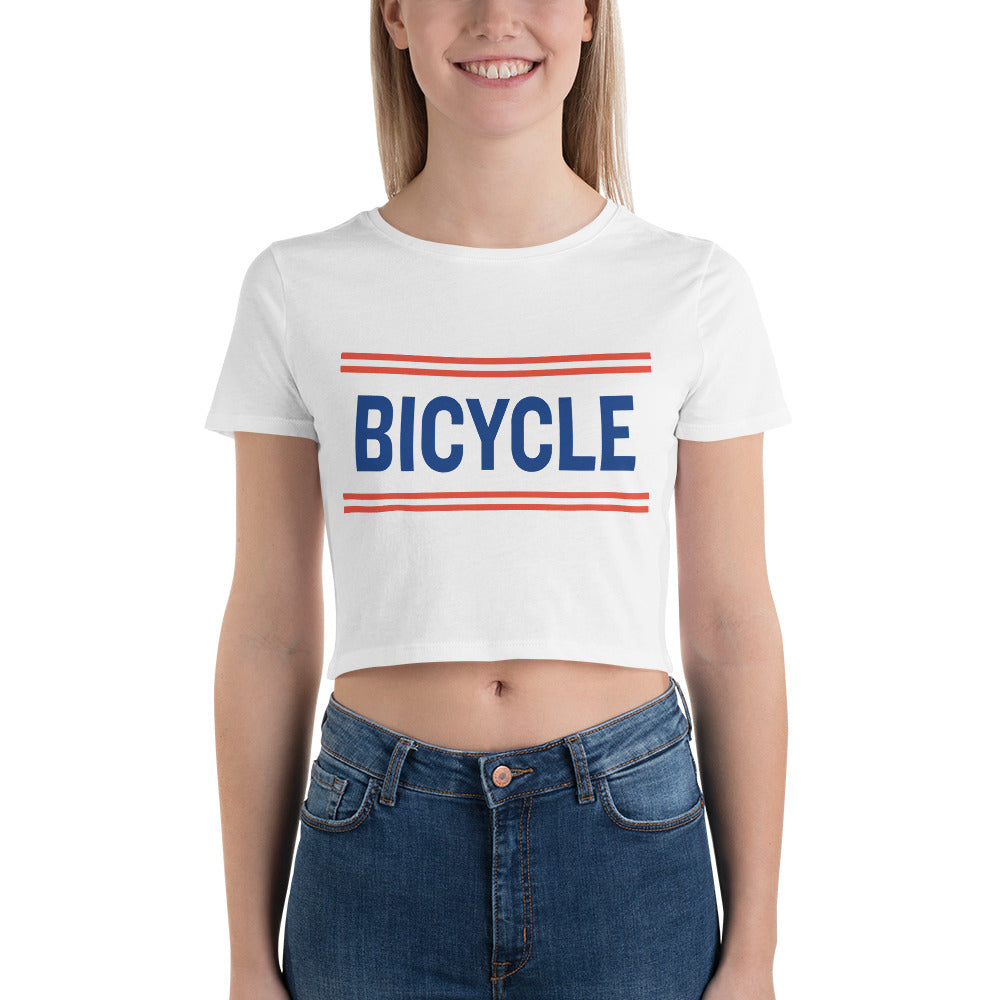 Women's Bicycle Crop Tee