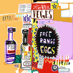 Wine series and free range eggs