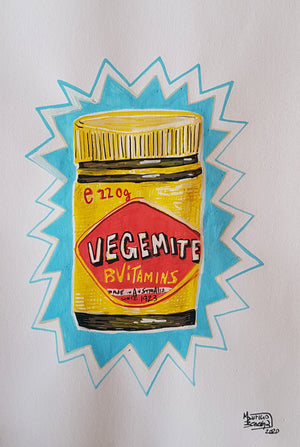 Vegemite - A4 drawings