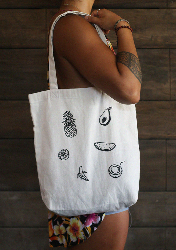 Fruits Basket Tote Bag