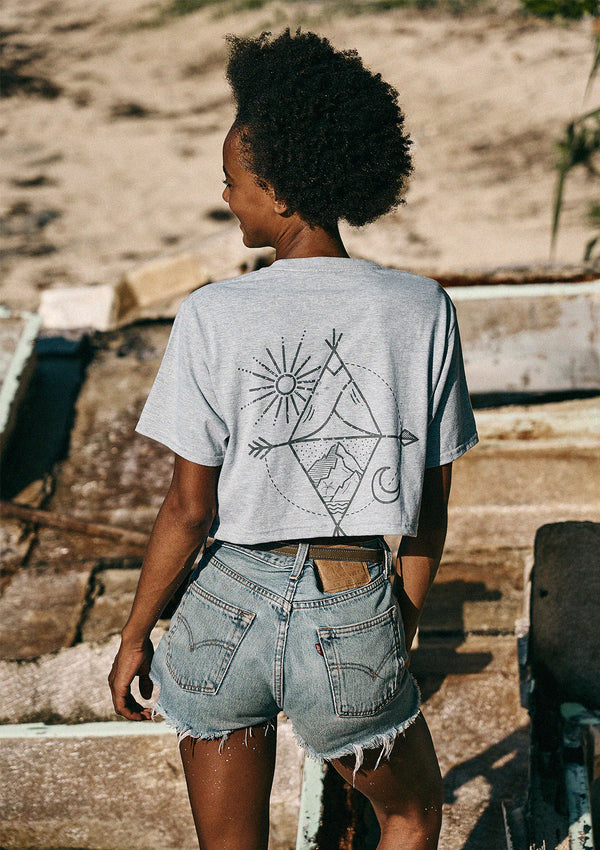 My Sun and Moon Crop Tee