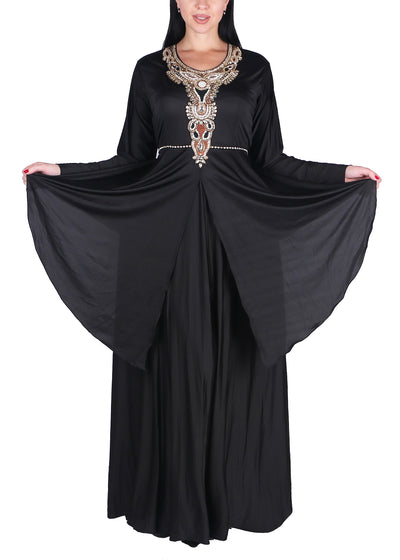 Kaftan Design # 1002 - Black