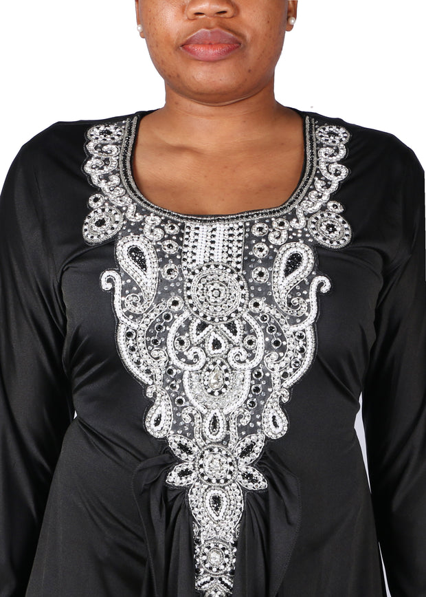 Kaftan Design # 1003 - Black