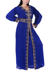 Kaftan Design # 7095 - Navy Blue