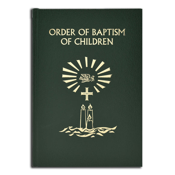 Order of Baptism (2020 Update, formerly Rite of Baptism)