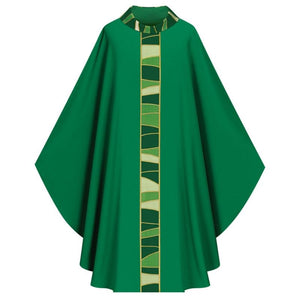 Green Gothic Chasuble-1,Green Gothic Chasuble-2