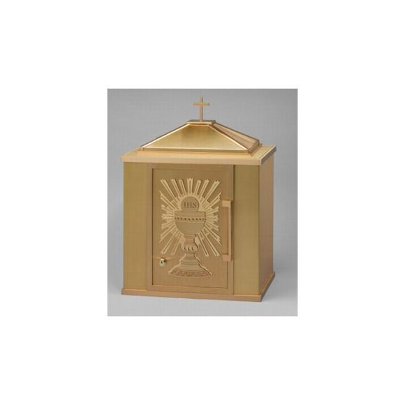 Ziegler | Style A | Eucharist Sunburst | Tabernacle | All Brass