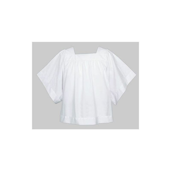 113 Square Neck Surplice