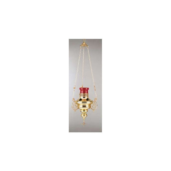 Artistic Silver 701 Hanging Sanctuary Lamp