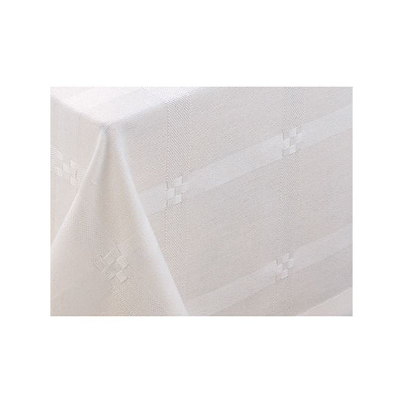 White Altar cloth in Alpha (63-35)-1,White Altar cloth in Alpha (63-35)-2