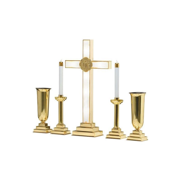 RW-LC Lighted Cross Altar Set