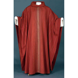 Red Job-Monastic chasuble-1