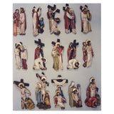 "Stations of the Cross-polychrome (11""-16""/ 30-42 cm)-1,Stations of the Cross-polychrome (11""-16""/ 30-42 cm)-2,Stations of the Cross-polychrome (11""-16""/ 30-42 cm)-3"