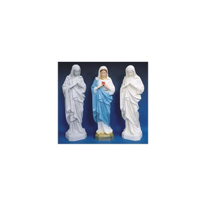 "SA2465 24"" Immaculate Heart of Mary Statue"