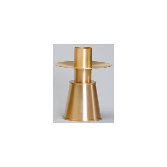 Ziegler | Style 780 Altar Candlestick in Satin Bronze Finish Sold in Pairs