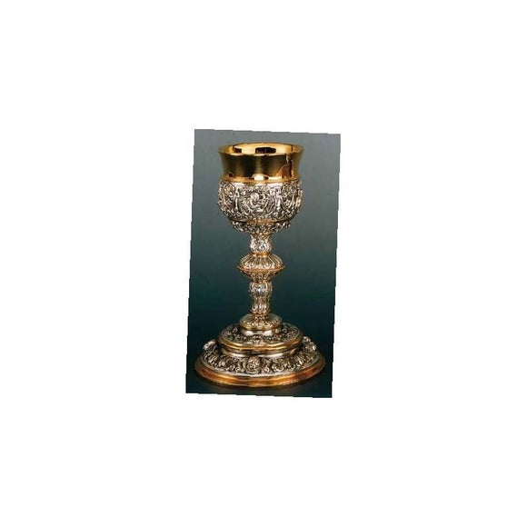 Artistic Silver AS-199 Chalice and Paten - Baroque