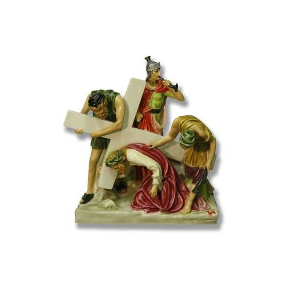F7741-54RLC Fiberglass Colored Stations of the Cross
