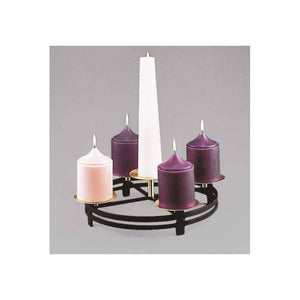Church Advent Wreath | 19-1/2"