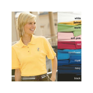 Beau Veste 8506 Deacons Wives Polo Shirts  Cornflower