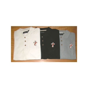 Beau Veste DEACONPOLO Deacon Polo Shirt  White  Long Sleeve