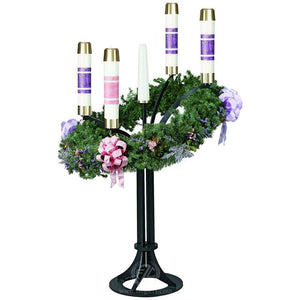 Church Advent Floor Wreath | 35"