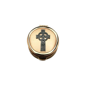 PC521 Deluxe Pyx - Celtic Cross Design