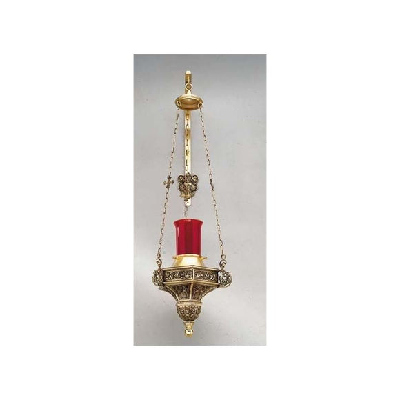 Artistic Silver 699 Hanging Sanctuary Lamp