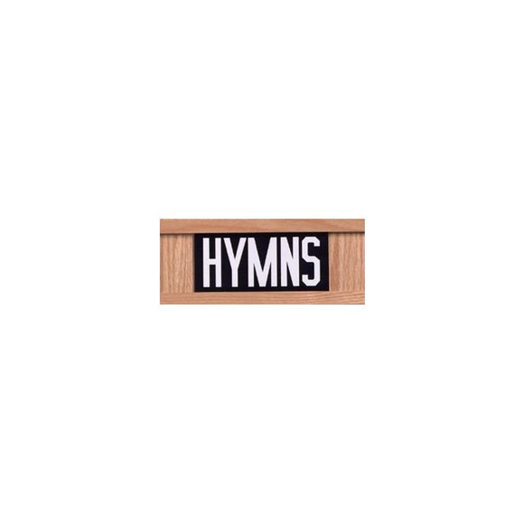 TS10015 Hymn Board Letter sets