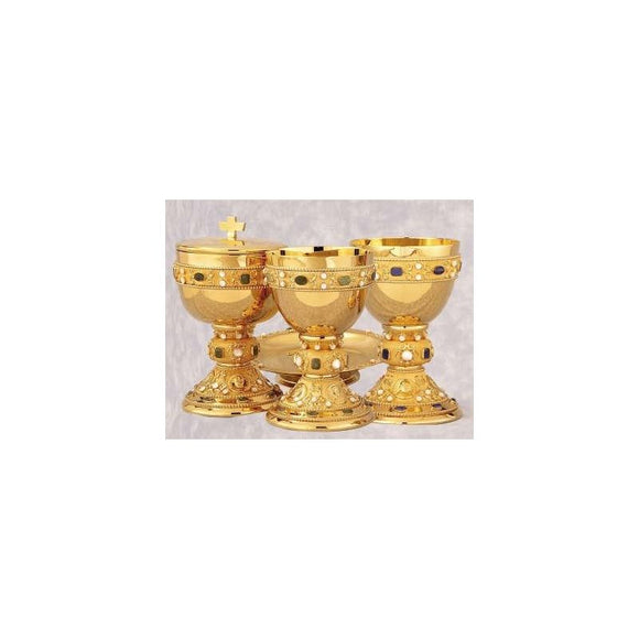 Chalice w/ Footed Paten A-4359G