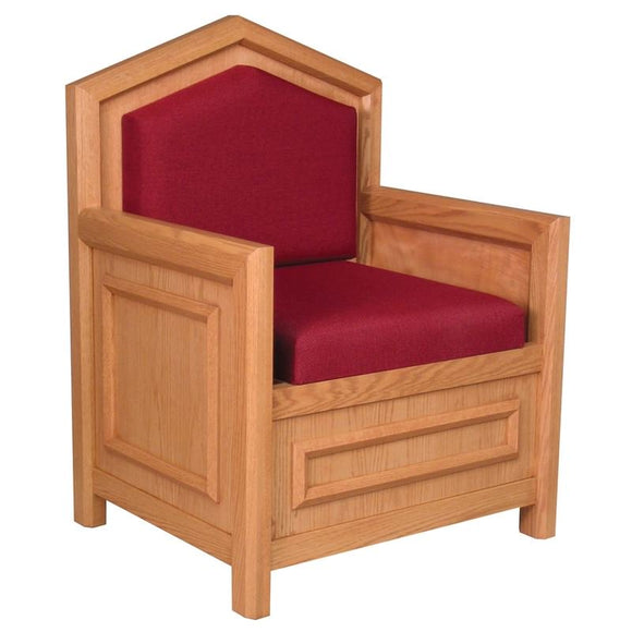 CELEBRANT CHAIR 733,CELEBRANT CHAIR 733,Woerner Wood Stain Colors,Woerner Fabric Colors