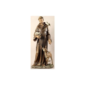 "42164 36-1/2"" St. Francis Statue"