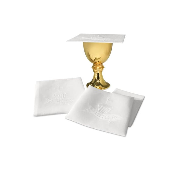 White Complete linen set-1