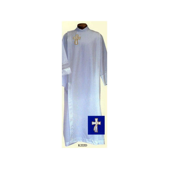 Beau Veste K222D Front Wrap Cassock Alb  Ample Cut  Button