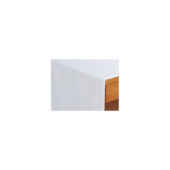 White Altar cloth in blended linen (63-38)-1