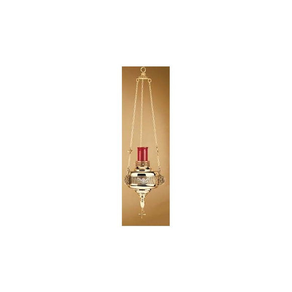 Artistic Silver 702 Hanging Sanctuary Lamp