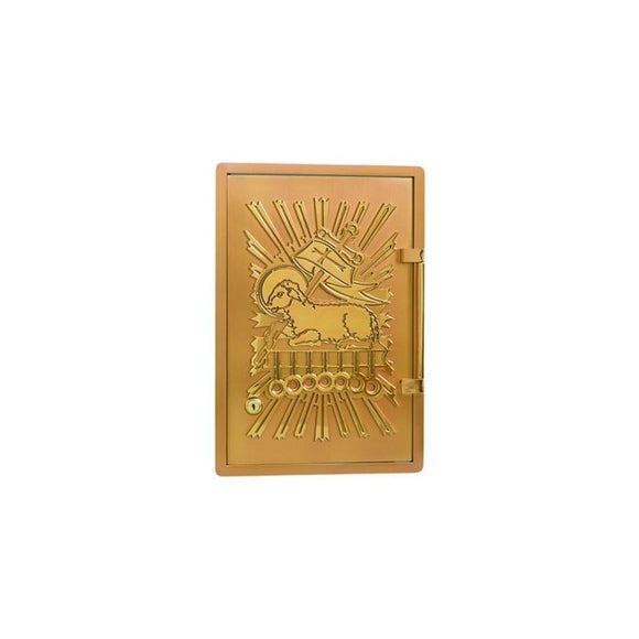 Ziegler | Style C | Christ the Lamb | Tabernacle | All Brass